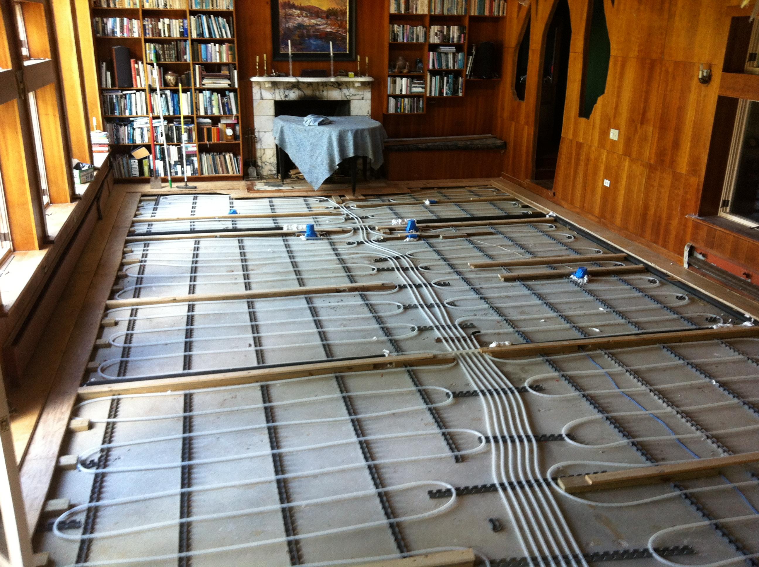 Beautiful Floors radiant floor heating – radiant works