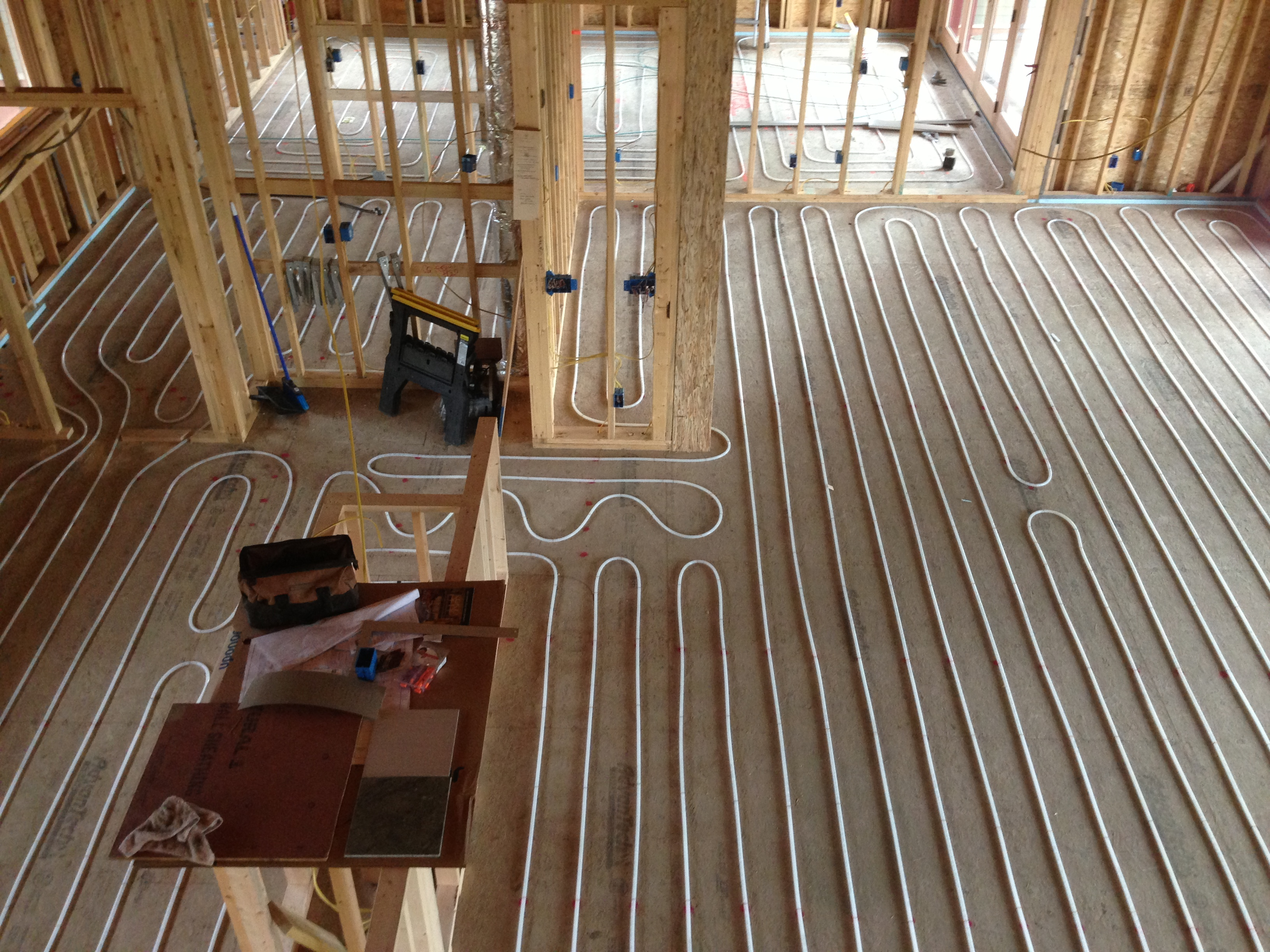 Radiant floor heating radiant works Radiant floors